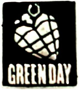 GREEN DAY Grenade Logo Pin Badge Rock Official Merchandise
