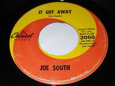Joe South: It Got Away / Birds Of A Feather 45