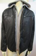 GUESS MEN'S DETACHABLE HOOD JACKET/COAT SZ MD
