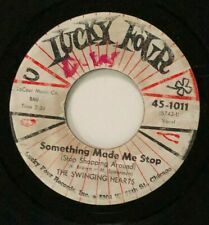 """7"""" 45 THE SWINGING HEARTS Something Made Me Stop 1960 LUCKY FOUR 45-1011 HEAR"""