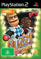 Buzz! The Sports Quiz Game Only PlayStation 2 Game USED