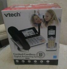 VTech CS5249 DECT 6.0 Expandable Corded & Cordless Phone with Answering Machine