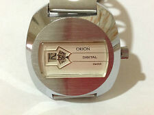 VINTAGE ORION DIGITAL SWISS SALTARELLO ANNI '70
