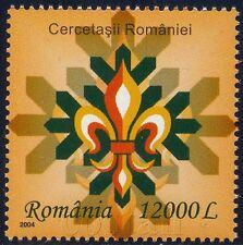 2004 Boy scouts Emblem,Pfadfinder,Scoutisme,Scaut,Cercetasi,Romania,Mi.5885,MNH