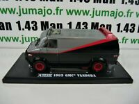 voiture 1/43 GREENLIGHT film Agences Tous risques A team GMC Vandura 1983