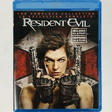 Resident Evil: The Complete Collection - All Films 1-6 (Blu-ray Set Region Free)