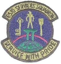 USAF 6570TH SERVICES SQUADRON Unit Patch - OD Green/Color - Veteran Owned Busine