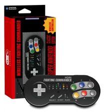 Sans fil Hori Fighting Commander pour SNES Classic Mini NEW UK PAL