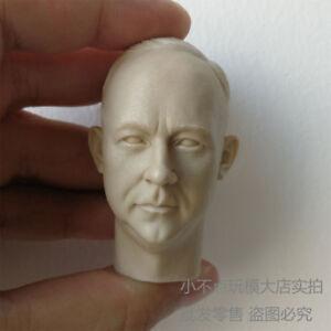 blank Hot 1/6 scale Head Sculpt WWII German General Heinrich Himmle unpainted