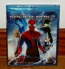 THE AMAZING-SPIDER-MAN 2-EL PODER DE ELECTRO-BLU-RAY-NUEVO-PRECINTADO-ACCION