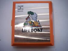 VINTAGE,RETRO-NINTENDO GAME AND WATCH LIFE BOAT-MULTI SCREEN