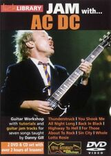LickLibrary JAM WITH AC-DC Angus Guitar Video Lessons 2 DVD & CD With Danny Gill