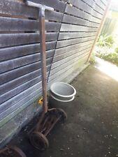 Vintage Retro Garden Push Mower