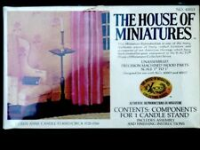 The House of Miniatures Queen Anne Candle Stand Circa 1725 - 1760 Factory Sealed