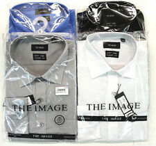 Men's Long Sleeve Button Down Dress Shirt