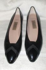 """AMALFI By Rangoni  """"CALLA""""  Pointed Toe Patent/Smooth Leather Black Heels,9.5 AA"""