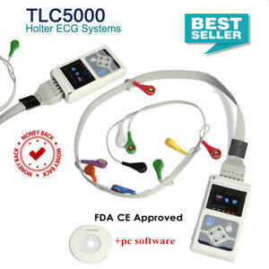 Best Offer! 12 Channel ECG Holter Recorder Analyzer,ECG Monitor Free software