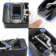 EU Plug Electric Easy Automatic Cigarette Injector Machine Tobacco Roller Maker