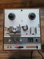 Vintage Akai X-1800SD Reel to Reel Tape Recorder with 8 Track Tape Recorder
