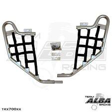 TRX 700XX  Honda   Nerf Bars  Alba Racing      Silver bar Black nets 233 T1 SB