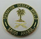 Operation DESERT SHIELD Saudi Arabia Hat Pin US ARMY Military Lapel