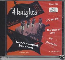 THE 4 KNIGHTS,a sentamental journey.27 original songs on 1 cd.doowop brand new