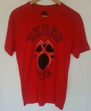 Mens WWE BIG VAN VADER TIME T-Shirt Small S Official Wrestling Red Short Sleeved