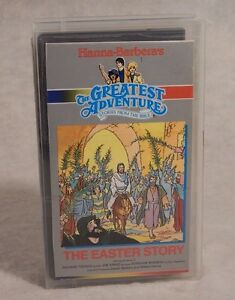 HANNA-BARBERA'S GREATEST ADVENTURE THE EASTER STORY Bible VHS Tested