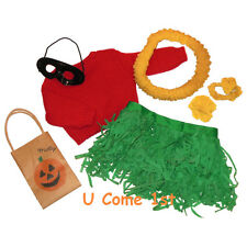MOLLY HALLOWEEN COSTUME! 1ST VERSION! PLEASANT COMPANY~AMERICAN GIRL~HULA OUTFIT