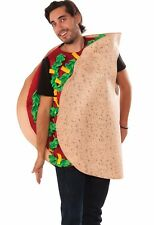 Taco Costume Adult Funny Light Weight Food Mexican Food Cinco de Mayo - Fast -