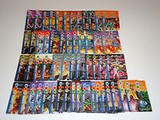 2 SETS OF MARVEL OVERPOWER MONUMENTAL & IQ EXPANSION TEAMWORK CARDS (54 TOTAL)
