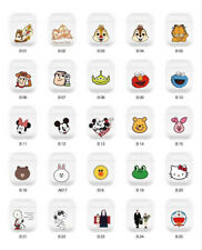 Korean Cute Disney Animals Clear Earphone Cover for Apple Airpods Charging Case
