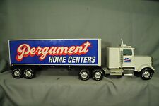 "vintage toy Nylint 25"" Freightliner Tractor Trailer Truck Pergament Home Centers"