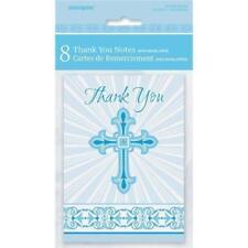 Cartes de vœux et papeterie bleu unisexe