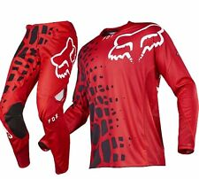 Fox 360 Grav 2017 Motocross Jersey 2xl Honda Red Dirt Bike off Road MX