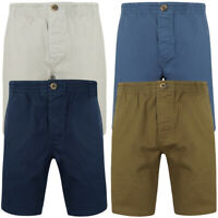 Tokyo Laundry Mens Elasticated Waist Chino Shorts Stretch Smart Casual Jean