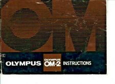 GENUINE OLYMPUS CAMERA OM-2 FULL INSTRUCTIONS MANUAL 0880 15MS