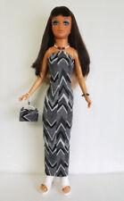 Tiffany Taylor Clothes HM DRESS + Beaded PURSE + JEWELRY Fashion NO DOLL d4e