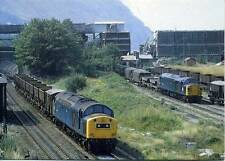 Diesel locomotives Class 40 40172 40143 Penmaenmawr North Wales 1983 postcard