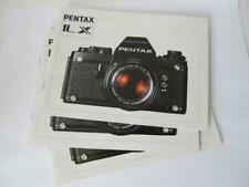 Pentax LX Camera Instruction Manual  ****