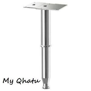 "IKEA GODMORGON Adjustable Leg Kasjon Shiny Bathroom Cabinet  6"" - 10"" New"
