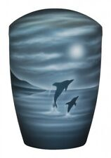 Dolphin Moonlight Bio Cremation Ashes  Urn