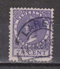 NVPH Netherlands Nederland 179 used TOP CANCEL LAREN Wilhelmina Veth 1926