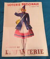 Loterie Nationale Tranche De L'infanterie 1940