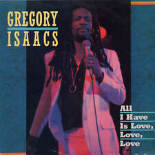 "REGGAE LP: GREGORY ISAACS ""ALL I HAVE IS LOVE, LOVE, LOVE"" 1986 TAD'S (UK) 1ST"