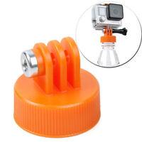 Surfing Plastic Bottle Mount Tripod Adapter Holder for GOPRO HERO5 4 3 2 1 SJCAM