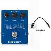 Caline CP-17 Time Space Echo Delay Guitar Effect Pedal Delay Pedal Digital Pedal