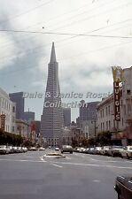 CA053 35mm Slide San Francisco Street Scene, 1975