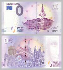 0 Euro Souvenirschein Wolfenbüttel