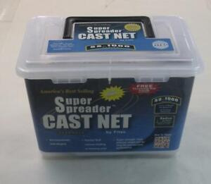 "Fitec 11470 SS1000 Super Spreader 5/8"" Cast Net 7 ft Radius"